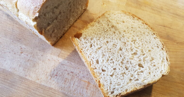 Pain de Mie (Vollkorn-Toast)