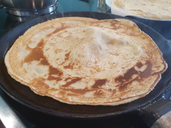 Pfannkuchen - fertig