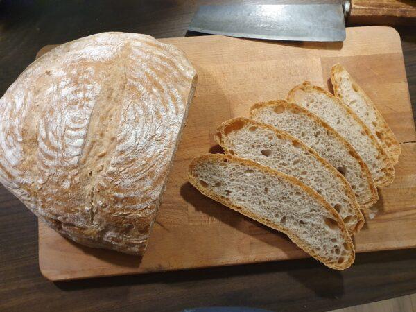 Mediterranes Brot - fertig