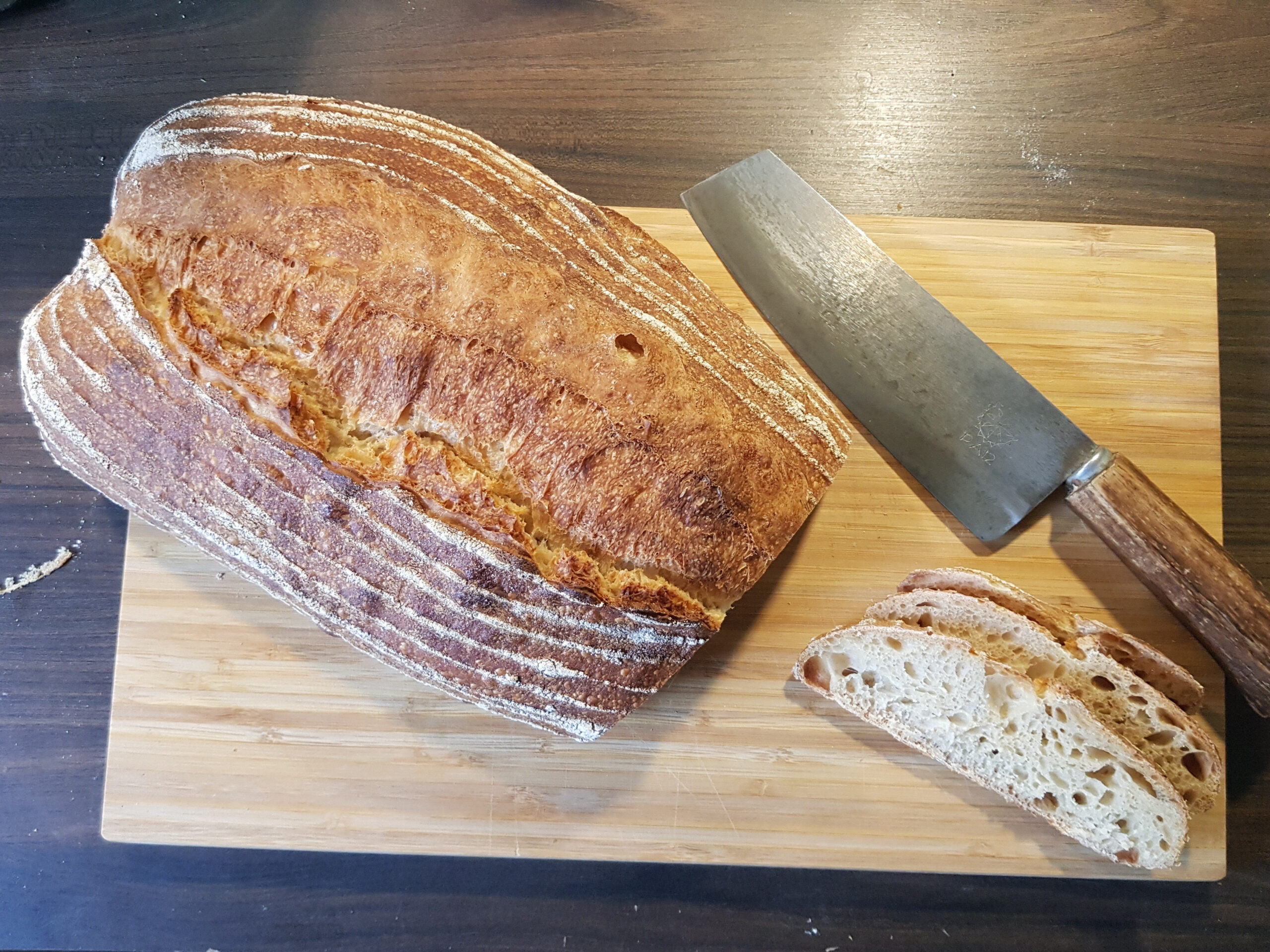 San Francisco Sourdough Brot (100 % Dinkel)