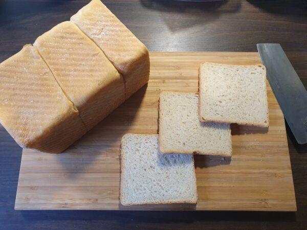 Toast nach Sonja - fertig