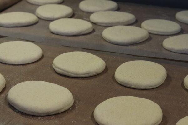 Englische Muffins - Teiglinge