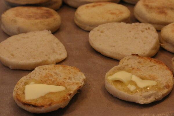 Englische Muffins - fertig 02