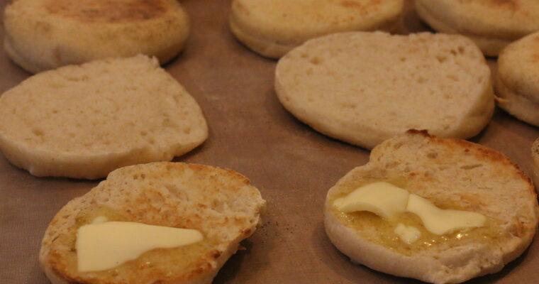 Englische Muffins (Toasties)
