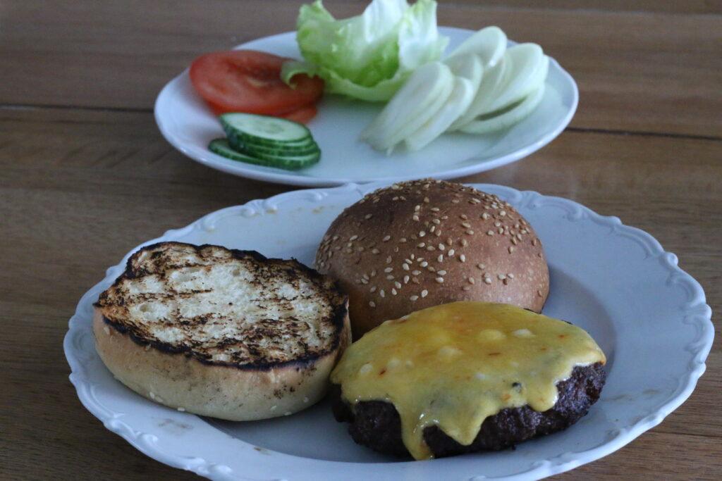 Burger Buns mit Sauerteig - fertig 07